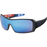 Fox The Duncan matte black intake/blue spark Sonnenbrille